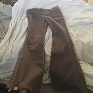 Pants - brown flared jeans